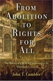 Cover of: From abolition to rights for all