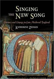 Cover of: Singing the New Song | Katherine Zieman