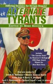 Cover of: Alternate Tyrants (Alternate Anthologies) | Mike Resnick