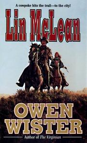 Cover of: Lin McLean