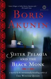 Cover of: Sister Pelagia and the Black Monk: A Novel (Mortalis)