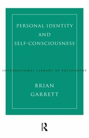 Personal identity and self-consciousness by Brian Garrett