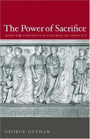 Cover of: The Power of Sacrifice