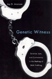 Cover of: Genetic Witness | Jay D. Aronson