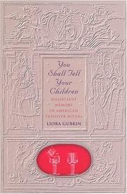 Cover of: You Shall Tell Your Children | Liora Gubkin