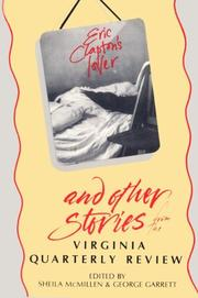 "Cover of: ""Eric Clapton's lover"" and other stories from the Virginia quarterly review"