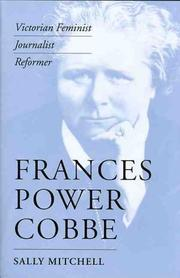 Cover of: Frances Power Cobbe | Sally Mitchell