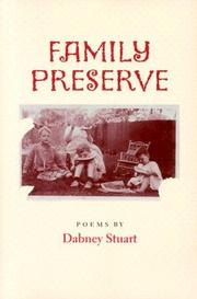 Cover of: Family preserve | Dabney Stuart