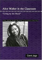 "Cover of: Alice Walker in the classroom: ""living by the word"""
