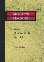 Cover of: Creative reading