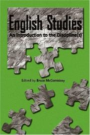 Cover of: English Studies