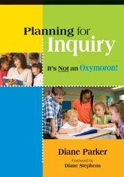 Cover of: Planning for Inquiry