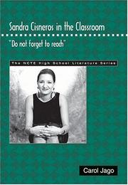 "Cover of: Sandra Cisneros in the classroom: ""do not forget to reach"""