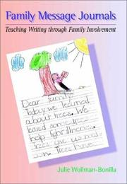 Cover of: Family Message Journals