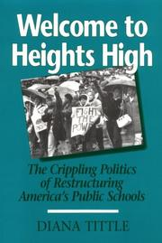 Cover of: Welcome to Heights High | Diana Tittle