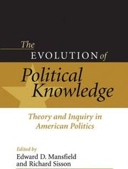 Cover of: The Evolution of Political Knowledge