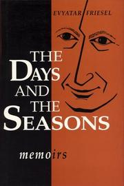 Cover of: The days and the seasons