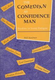 Cover of: The comedian as confidence man
