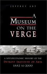 Cover of: A Museum on the Verge | Jeffrey Abt