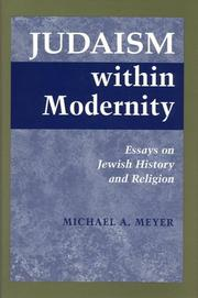 Cover of: Judaism Within Modernity | Michael A. Meyer