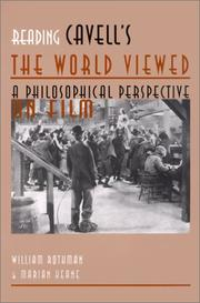 Cover of: Reading Cavell's The world viewed