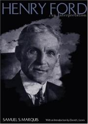 Cover of: Henry Ford | Samuel S. Marquis