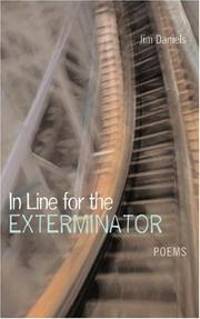Cover of: In Line for the Exterminator | Jim Daniels