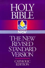 Cover of: Holy Bible New Revised Standard Version |