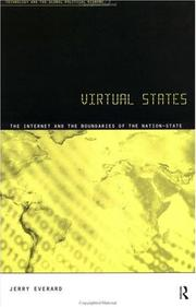 Cover of: Virtual States (The Internet and the Boundaries of the Nation State)