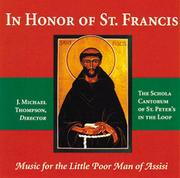 Cover of: In Honor of St. Francis