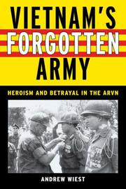 Cover of: Vietnam's Forgotten Army | Andrew A. Wiest, James H. Webb