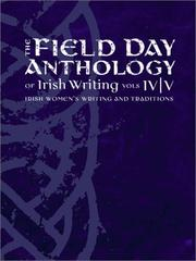 Cover of: The Field Day Anthology of Literature Vols. IV and V