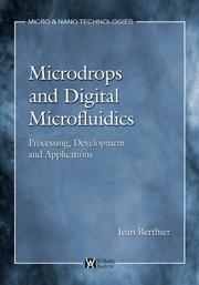 Cover of: Microdrops and Digital Microfluidics | Jean Berthier