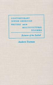 Cover of: Contemporary Jewish American Writers and the Multicultural Dilemma