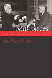 Cover of: Party Pieces | Alan W. Friedman