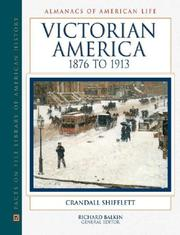 Cover of: Victorian America, 1876 to 1913