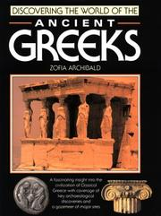 Cover of: Discovering the world of the ancient Greeks