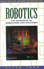 Cover of: Robotics | Ellen Thro