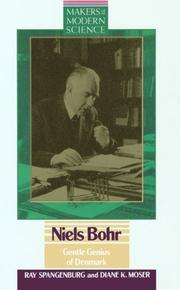 Cover of: Niels Bohr