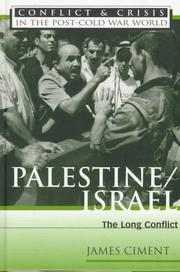Cover of: Palestine/Israel | James Ciment