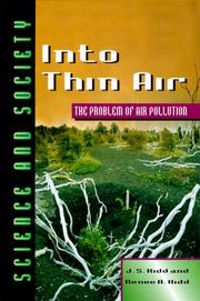 Cover of: Into thin air
