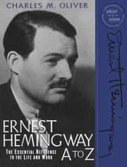Cover of: Ernest Hemingway A to Z