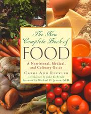Cover of: The New Complete Book of Food