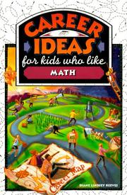 Cover of: Career ideas for kids who like math