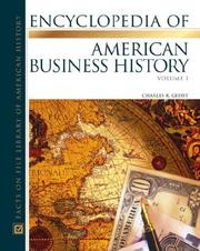 Cover of: Encyclopedia of American business history
