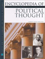 Cover of: Encyclopedia of Political Thought (Facts on File Library of World History)