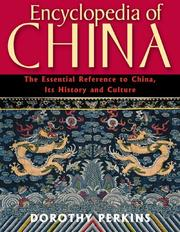 Cover of: Encyclopedia of China | Dorothy Perkins