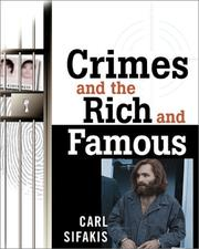 Cover of: Crimes and the Rich and Famous