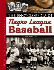 Cover of: The Encyclopedia of Negro League Baseball (Facts on File Sports Library) | Thom Loverro