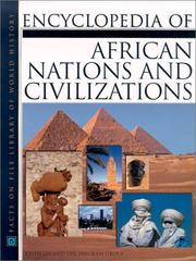 Cover of: Encyclopedia of African nations and civilizations |